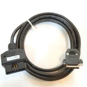 Mapout Mahindra (Garuda) OBD-II Male to DB15 Male Cable